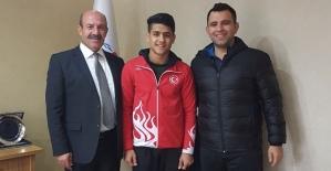 Uluslararası Azerbaycan Judo Turnuvasında Rıdvan Hazar 2. Oldu