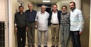 Başkan Özcan#039;dan Hasta Ziyareti...