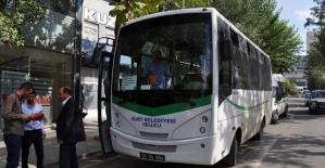 Arefe Günü ve Bayramda Belediye Otobüsleri Ücretsiz