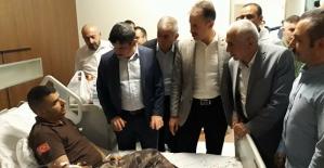 Milletvekili Aktay ve Çalapkulu, Bayram'da Hastaları Unutmadı