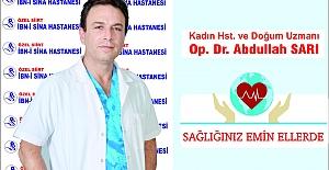 Op. Dr. Abdullah Sarı, Menopozu Sağlıkla Geçirmenin Yolları Hakkında Bilgi Verdi