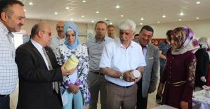 Tillo Halk Eğitim Merkezi Yıl Sonu Sergisi Açıldı