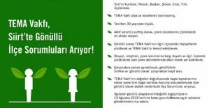 TEMA Vakfı Siirt'te Gönüllü İlçe...