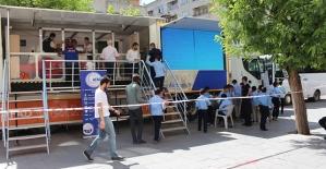 AFAD Deprem Simülasyon Tırı'na Yoğun İlgi