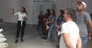 Stajyer Öğrenciler İçin Teknik Gezi Düzenlendi