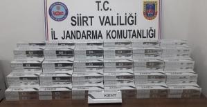 Bin 750 Paket Kaçak Sigara Ele Geçirildi