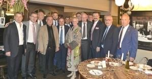 Siirt TSO Başkanı Güven Kuzu, Berlin'de Yapılan Türkiye-Almanya Ekonomi Diyaloğu Toplantısına Katıldı