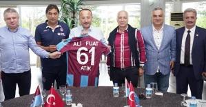 Vali Atik, Trabzonspor'u Ziyaret Etti