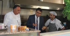 Kurtalan İlçe Milli Eğitim Müdürü Faysel Polat'tan Yemekhane Denetimi