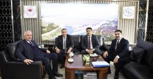 AK Parti Milletvekili Osman Ören, DSİ Genel Müdürü Mevlüt Aydın'ı Ziyaret Etti