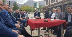 Eruh Belediye Başkan Aday Adayı Mehmet Dündar'dan Esnaf Ziyareti