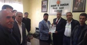Mansur Çalapkulu, AK Parti Tillo Aday...