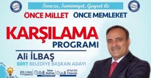Belediye Başkan Adayı Ali İlbaş...