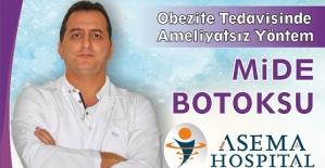 Dr.Erdoğan, Mide Botoksu İle Kısa Sürede Kilo Verebilirsiniz