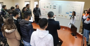 İnşaat Mühendisliği Öğrencileri Su Arıtma Tesisini Gezdi