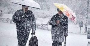 Siirt ve Şırnak İçin Yoğun Kar Uyarısı