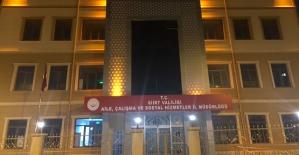 Siirt'te Şiddeti Önleme Merkezi Kuruldu