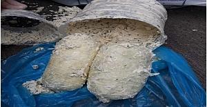Peynir Bidonunda 1 Kilo 60 Gram Esrar...