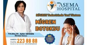 Dr. Ayfer Ertekin, Kronik Migren Tedavisinde Botoks Tedavisi İle İlgili Bilgi Verdi