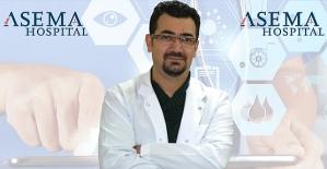 Dr. Şeyhmus Kıran ,Sağlıklı Kemik Yapısı İçin Doğru Beslenme Kuralları Hakkında Bilgi Verdi