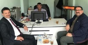 Siirt Üniversitesi Rektörü Prof. Dr. Murat Erman Büromuzu Ziyaret Etti