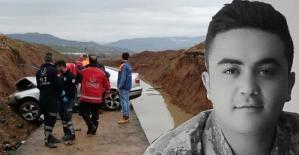 Aracıyla Su Kanalına Yuvarlanan Uzman Çavuş, Hayatını Kaybetti