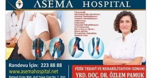 Fizik Tedavi ve Rehabilitasyon Uzmanı Yrd.Doç. Dr. Özlem Pamuk ,Özel Asema Hospital'da