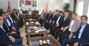 AK Parti İl Başkanı Çalapkulu, İl Genel Meclis Üyeleri İle Bir Araya Geldi