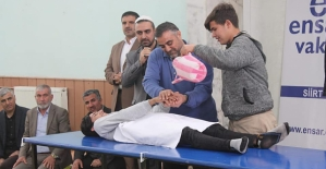 İmam Hatip Lisesi Öğrencilerine Cenaze Yıkama ve Tekfin Kursu Verildi