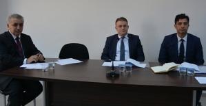 Merkez İlçe Köylere Hizmet Götürme Birliği Encümen Seçimi Yapıldı