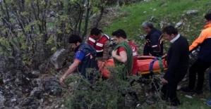 Tillo'da Ot Toplarken Uçurumdan Düşen Kadın Hayatını Kaybetti