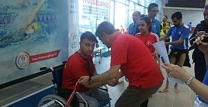 Türkiye Bedensel Engelliler Yüzme Şampiyonası Trabzon İlinde Yapıldı