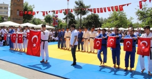 19 Mayıs Atatürk'ü Anma, Gençlik ve Spor Bayramı Coşkuyla Kutlandı