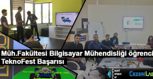 Bilgisayar Mühendisliği Öğrencilerinin Teknofest Başarısı
