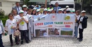 """""""Lider Çocuk Tarım Kampı Projesi"""" Başladı"""