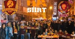 Siirtliler Galatasaray'ın Şampiyonluğunu Coşkuyla Kutladı