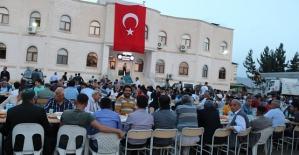 Şirvan Belediye Başkanı Necat Cellek İlçe Halkına İftar Verdi