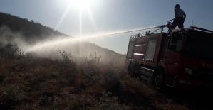 Aktaş Köyünde 10'uncu Yangın