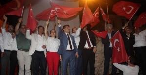 """Baykan İlçemizde """"15 Temmuz Demokrasi ve Milli Birlik Günü"""" Coşkusu"""