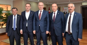 Milletvekili Osman Ören, Karayolları Genel Müdürü ve TOKİ Başkanını Ziyaret Etti