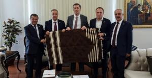 Osman Ören ve Belediye Başkanları...