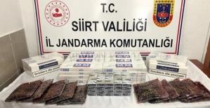 510 Paket Kaçak Sigara İle 10 Kg. Kaçak...