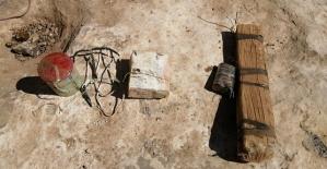 Eruh İlçe Kırsalında Toprağa Gömülü El Yapımı Patlayıcı (EYP) Ele Geçirildi