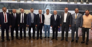 Vali Ali Fuat Atik'ten Nihat Özdemir'e Ziyaret