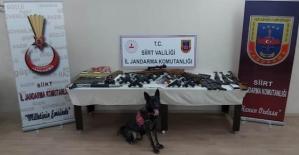 Siirt Merkezli 5 İlde Organize Silah ve Mühimmat Kaçakçılığı Operasyonunda 28 Gözaltı