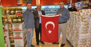 Siirt TSO 29 Ekim Cumhuriyet Bayramı Dolayısıyla Üyelerine Bayrak Dağıttı