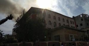 Tilloda Kuran Kursu Binasında Yangın