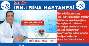 Dr. Şükrü Erdoğan, Meme Kanseri ve Alınması Gereken Önlemler İle İlgili Bilgi Verdi