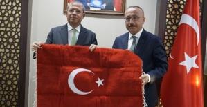 Enerji Bakan Yardımcısı Tancan,TFF Başkanı Özdemir, Vali Atik'i Ziyaret Etti