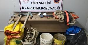Siirt'te Deliklitaş'ta 'Kral Mezarlığında' Kazı Yapan 6 Kişi Yakalandı